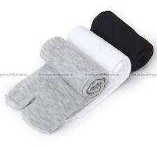 3 Pairs Unisex Japanese Kimono Flip Flop Sandal Split Toe Tabi Ninja Socks