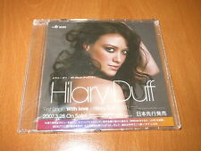 HILARY DUFF - WITH LOVE - JAPAN CD SINGLE 3 TRACKS PROMO ~ BRAND NEW & SEALED !