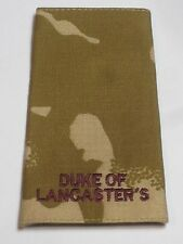 Rangschlaufe:  Private, desert , Duke of Lancaster´s Regiment