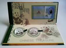 2013 2014 China Panda 1oz .999 Silver with quality display box & certificate