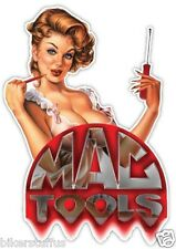 MAC TOOLS BEAUTIFUL LADY BUMPER STICKER LAPTOP STICKER HARD HAT STICKER