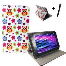 10.1 zoll Motiv Tablet Tasche Hülle Case - Acer Iconia Tab A200 - Eule Love 10