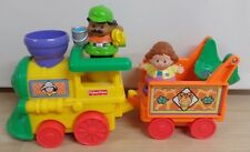 Fisher Price two car musical train two people Child 3+ toy