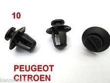 Peugeot 206  Citroen Door Moulding Trim Card Black Plastic Clip Replacement  T51