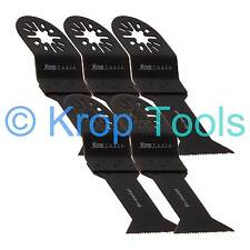 5 Multi Tool Blades Erbauer Makita Milwaukee 44mm Bi-Metal by KROP