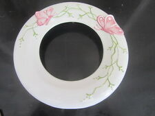 cadre porcelaine décor papillons style art nouveau porcelain frame