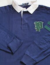 NEW POLO RALPH LAUREN LONG SLEEVE NAVY GOTHIC P JERSEY RUGBY size 3XLT / $145