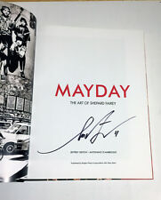 HAND SIGNED DATED Shepard Fairey urban art hardcover book MAYDAY OBEY