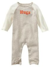 Baby GAP Intarsia HUGS Sweater Romper One Piece Outfit Boy Girl 6 12 mo NWT $35
