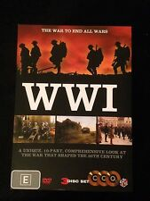 WW1 THE WAR TO END ALL WARS R4 DVD Free Post 3 DISC SET