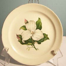 """Eastern China White Blossom Bread Plate 6 1/8"""""""
