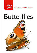 Collins Gem Butterflies: An Easy-to-Use Guide to Europe's Most Common-ExLibrary