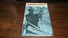 Life and Work of Henry Moore by David Hall 1st Hardcover w/ Dust Jacket Ex