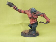 WARHAMMER LOTR/HOBBIT-MORIA ARMY CAVE TROLL  WELL PAINTED METAL