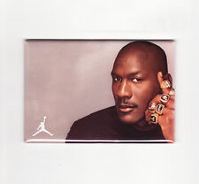 MICHAEL JORDAN / SIX RINGS - FRIDGE MAGNET (costacos poster nike air chicago nba