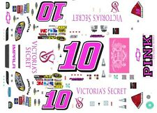 #10 DANICA PATRICK VICTORIA'S SECRET 1/24th - 1/25th Scale Waterslide Decals