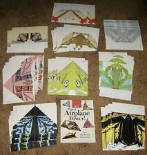 Paper Airplane Power! Book PLUS 41 Sheets For Making Nine Different Aircraft