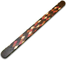 ONE PIECE WIDE BILLIARDS POOL SNOOKER CUE CASE HARLEQUIN LOOK WITH 3 SLOTS