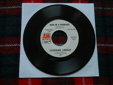 Claudine Longet small talk & Man in a raincoat' 7' washed & cleaned