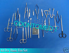 Basic Eye Set of 44 Instruments Ophthalmic Surgical Instruments