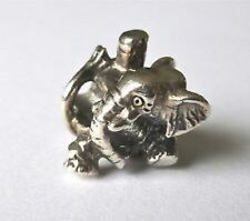 Authentic Sterling Silver TROLLBEADS CIRCUS ELEPHANT. New & Retired