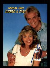 Judith und Mel Autogrammkarte Original Signiert ## BC 59532