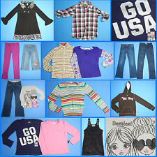 15 Pc. Lot of Nice Clean Girls Size 10 Fall School Winter Everyday Clothes FW222