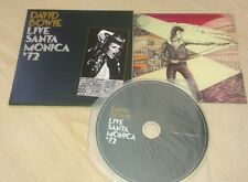 David Bowie - Live Santa Monica '72 GOLD CD (LP style) FIVE YEARS BOX SET