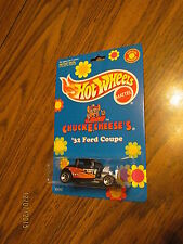 Hot Wheels Chuck E Cheese 32 Ford Coupe 1/64 MOC Diecast