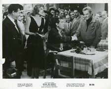 MELINA MERCOURI  JULES DASSIN  NEVER ON SUNDAY 1960 VINTAGE PHOTO #1