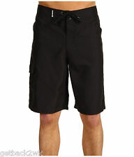 NEW HURLEY BOARDSHORTS SHORTS MENS 30 Swimsuit One and Only Black