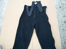 POLARTEC Classic 200 BIB OVERALLS FLEECE PANTS Military  Med  Short/reg USED