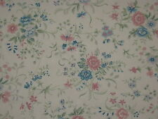 """From The Sheridan Range SURRY HILLS Floral Curtain Fabric  46""""W x 11½YDS ENGLAND"""