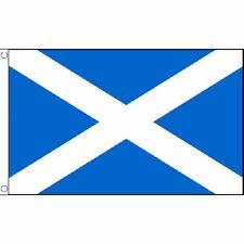 St Andrews (Light Blue) Flag 5Ft X 3Ft Scots Scottish Scotland Banner New