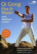 Matthew Cohen: Qi Gong Fire and Water (2007, DVD NEUF)