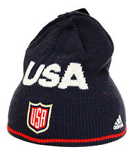 Team USA 2016 World Cup of Hockey Beanie Knit Hat Navy