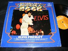 Made In Spain 1982 Displayable Cover ELVIS PRESLEY LP Historia De La Musica Rock