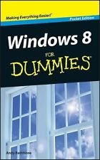 Windows 8 For Dummies, Rathbone, Andy, Good Book