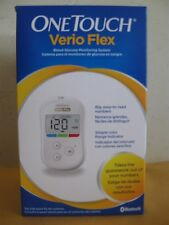 "ONE TOUCH VERIO FLEX BLOOD GLUCOSE MONITORING SYSTEM ""BRAND NEW"" EXP 02/18"