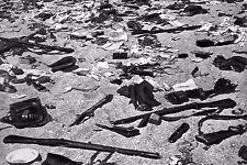 WW2 - Dunkerque mai 40 - Armes et équipements abandonnés sur la plage