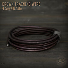 American Bonsai Brown Aluminum Training Wire - 4.5mm - 100 grams - 9ft - 100g