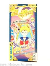 NEW Vintage Sailor Moon TOP MODEL Cosplay Mask Paper Doll Serena's Bedroom Games