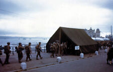 6x4 Photo ww919 Normandy Pointe Hoc Weymouth Cont Distribution Cafe Croix Rouge