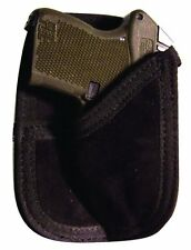 Concealed back pocket wallet holster OPEN CARRY GUN HOLDER