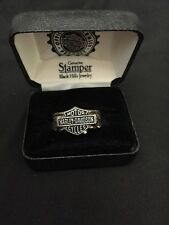 Men's HARLEY-DAVIDSON Sterling Stamper Black Hills Jewelry Ring