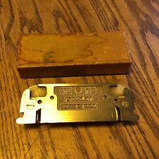 VINTAGE STANLEY NO. 79 SIDE RABBET LEFT & RIGHT PLANE IN THE ORIGINAL BOX