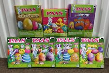 7-SET PAAS DELUXE EASTER EGGS DECORATING KITS Gold Tie Dye Glitter Marble NEW