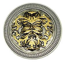 Hombre Verde Hebilla De Cinturón Diseño Circular 24ct Oro Auténtico producto diseños de Dragón