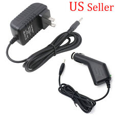 12V 1.5A US Wall + Car Charger Adapter For Acer Iconia Tab A500 A100 A501 A101