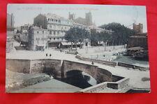 NARBONNE LE CANAL ET LA RUE DE LA REPUBLIQUE 1910